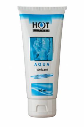 Смазка HOT planet на водной основе AQUA lubricant 100 мл
