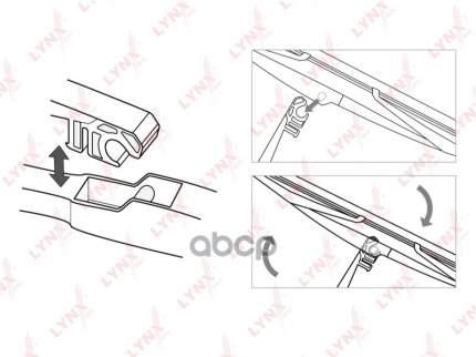 Щетка стеклоочистителя LYNXAUTO lr28e