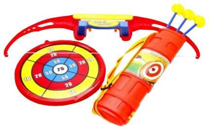 Луки игрушечные Наша Игрушка со стрелами, колчан, стрела 3шт