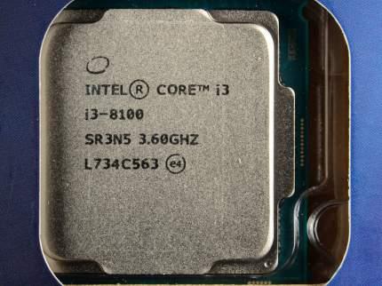 Процессор Intel Core i3-8100 BOX