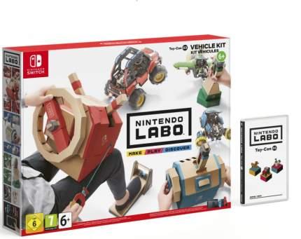 Игра для Nintendo Labo: набор «Транспорт» (Nintendo Switch)