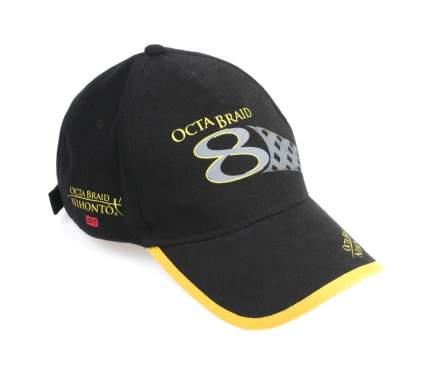 Бейсболка Mikado Octa, черная, One Size