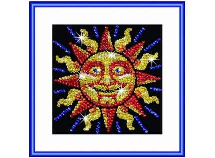 Мозаика из пайеток KSG Sequin Art Солнце фокус