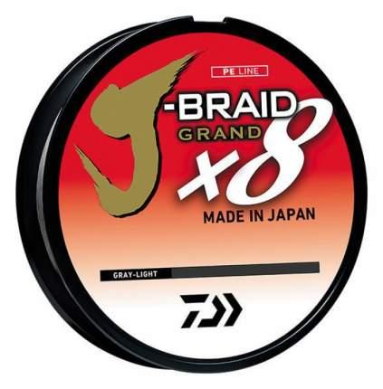 Леска плетеная Daiwa J-Braid Grand X8 0,06 мм, 150 м, 5 кг gray light