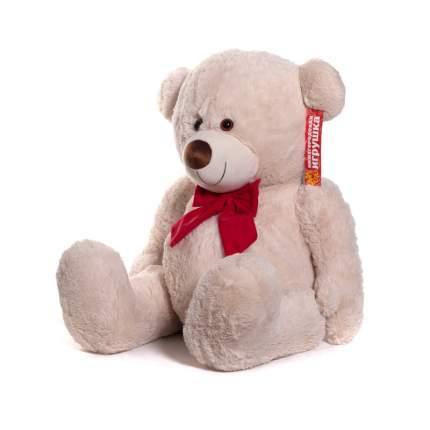 Мягкая игрушка Медведь средний пузатый с бантом 60 см Нижегородская игрушка См-531-5
