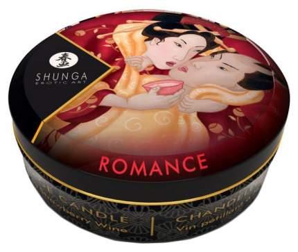 Массажная свеча Shunga Sparkling Strawberry Wine с ароматом клубничного вина 30 мл