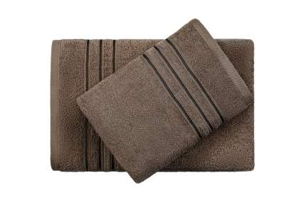 Полотенце универсальное Aquarelle Верона коричневый
