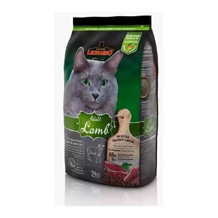 Сухой корм для кошек Leonardo Adult Lamb, ягненок, 2кг