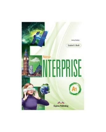 New Enterprise A1, Student'S Book With Digibook App, Учебник (С Ссылкой на Электронно...