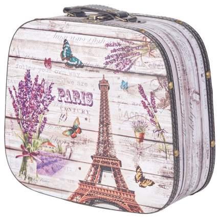 Декоративный чемодан для хранения Hoff Французская лаванда