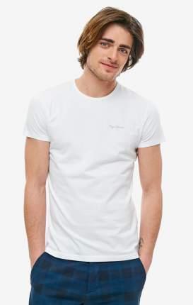 Футболка мужская Pepe Jeans PM503835.800 белая/серая S
