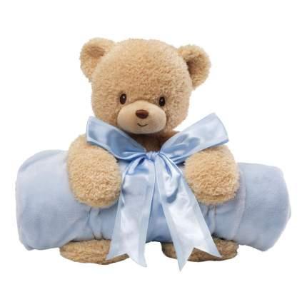 Мягкие игрушки животные Gund мишка с полотенцем 20,5 см