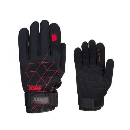 Гидроперчатки Jobe 2020 Stream Gloves, black/red, L