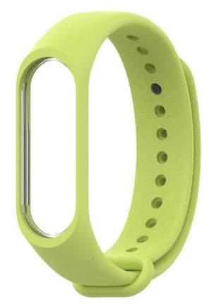 Сменный ремешок для Хiaomi Mi Band 3/4 Silicon Light Green