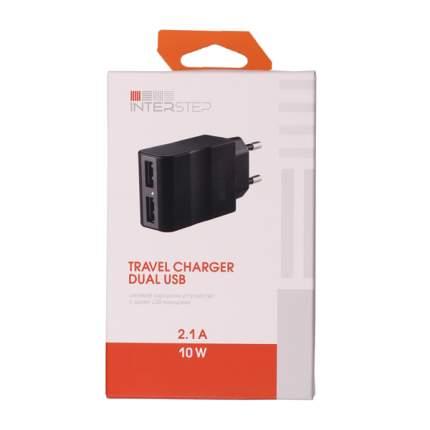 Сетевое зарядное устройство Travel Charger 2 USB 2,1A Black