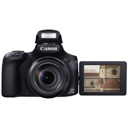 Фотоаппарат цифровой компактный Canon Power Shot SX60HS Black