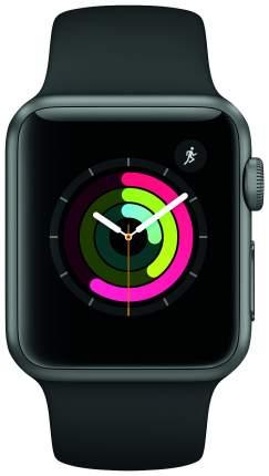 Смарт-часы Apple Watch Series 1 38mm Space Gray Al/Black (MP022RU/A)