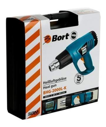 Фен строительный Bort BHG-2000L-K 98291582
