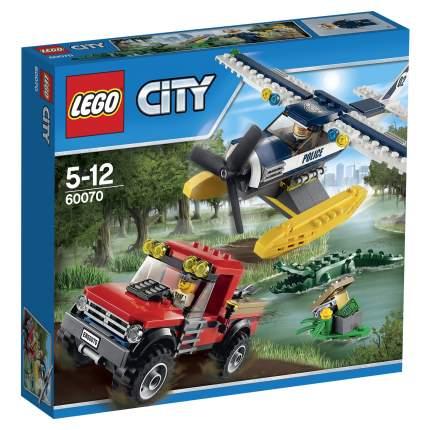 Конструктор LEGO City Police Погоня на полицейском гидроплане (60070)