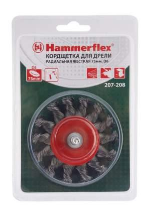 Дисковая кордщетка для дрелей, шуруповертов Hammer Flex 207-208 (62120)