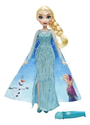 Кукла Disney Elsa в наряде с проявляющимся рисунком b6699 b6700