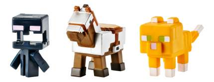 Игровой набор Minecraft Набор из 3х фигурок персонажей minecraft CGX24 DKD57