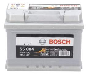 Аккумулятор автомобильный автомобильный Bosch S5 Silver Plus 0 092 S50 040 61 Ач