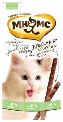Лакомство для кошек для кошек Мнямс , кролик, утка, 15г 3шт
