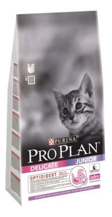 Сухой корм для котят PRO PLAN Junior Delicate, индейка, 10кг