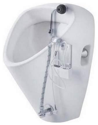 Писсуар JIKA Golem с сенсором Antivandal (8.4307.0.000.483.1) белый