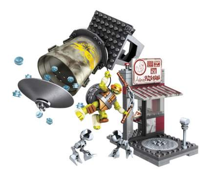 Конструктор пластиковый Mattel inc Mega Bloks Схватка в пиццерии