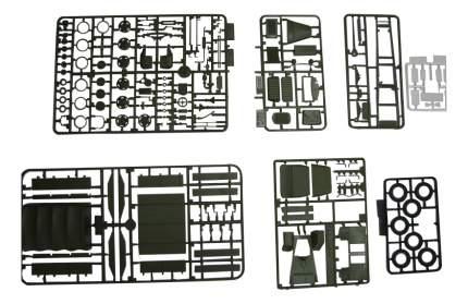 Модели для сборки Zvezda Советский армейский грузовик ГАЗ-ММ обр. 1943 г.