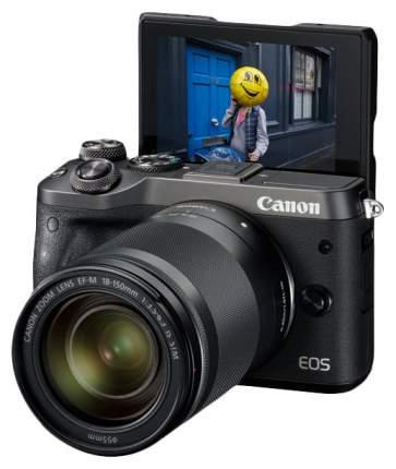 Фотоаппарат системный Canon EOS M6 EF-M18-150