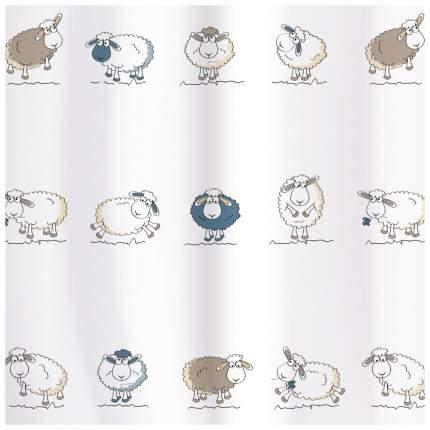 Штора для ванной Tatkraft Funny Sheep 180x180 см