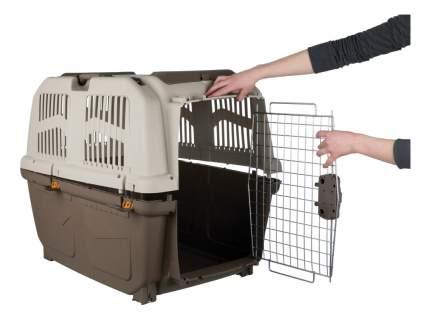 Переноска для собак MPS Skudo 6, серая, 63x92x70 см