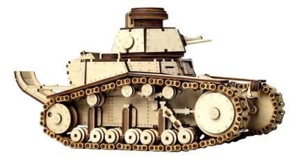 Конструктор деревянный Lemmo Танк МС-1