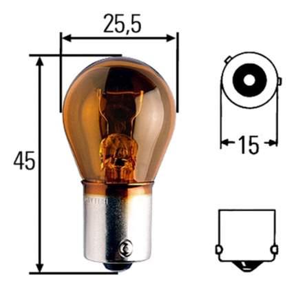 Лампа Hella 21W BA15s 8GA 006 841-121