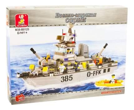 Конструктор пластиковый Sluban Военно-морская серия