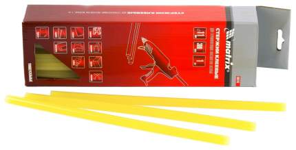 Клеевые стержни для клеевых пистолетов MATRIX 11x300 мм 34 шт 930743