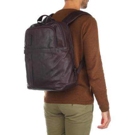 Рюкзак кожаный Piquadro CA4174P15S коричневый