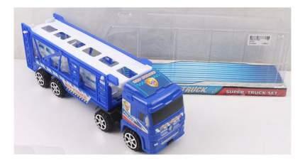 Игровой набор Super Truck Автовоз с 2 машинами Gratwest В79472