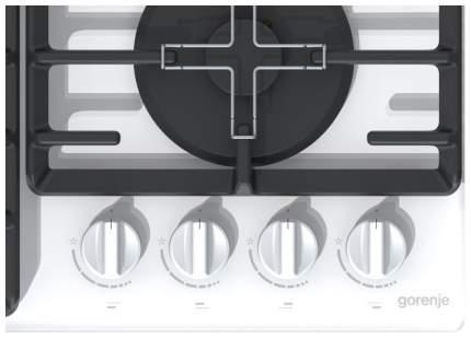 Встраиваемая варочная панель газовая Gorenje GT641 ZW White
