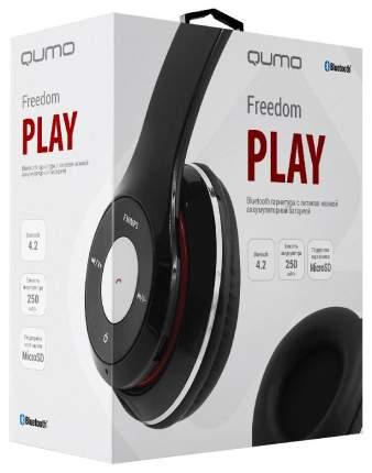 Беспроводные наушники Qumo Freedom Play Black