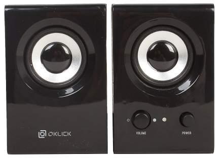 Колонки компьютерные Oklick OK-160 Черный 2,0, 6Вт