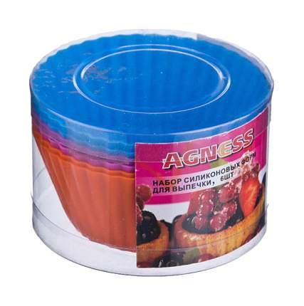 Набор форм Agness 710-104 Оранжевый, голубой, розовый