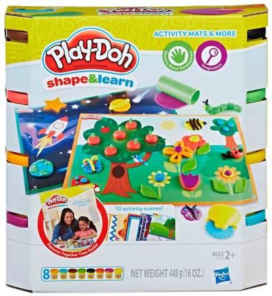 Набор для лепки из пластилина Play-Doh Hasbro Познаем Мир