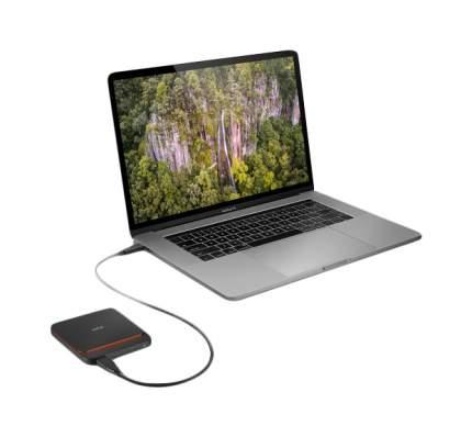 Внешний SSD накопитель LaCie Portable 2 TB Black (STHK2000800)