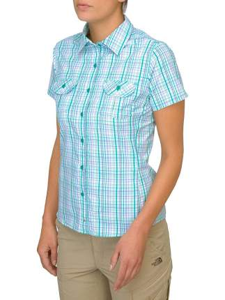 Рубашка The North Face Boulder Kassie, marker blue plaid, XS INT
