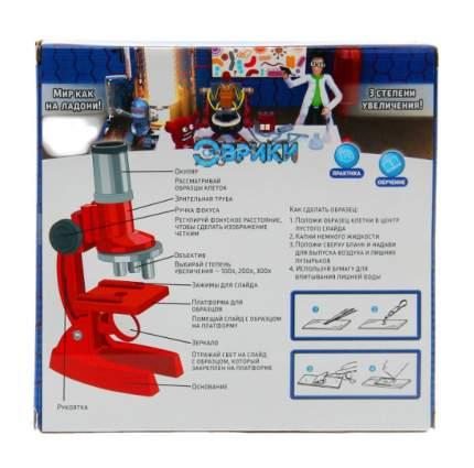 """Набор для изучения микромира """"Микроскоп"""", 7 предметов Эврики"""