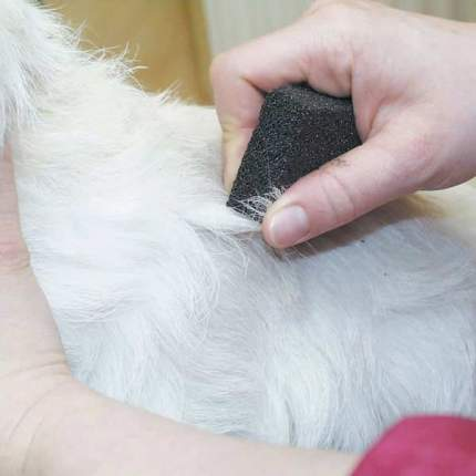Камень для тримминга для собак Show Tech Stripping Stone, 9х6х2,5 см